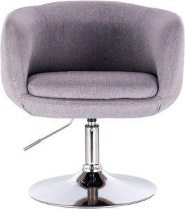 le tabouret de bar est un bon intermédiaire à la chaise pivotante.