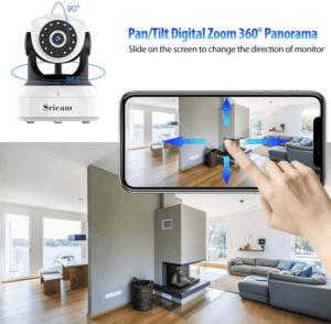 Ces caméras vous donnent également la possibilité d'être en contact permanent avec votre foyer. Une fonctionnalité qui a su convaincre les avis des utilisateurs lors de leurs tests.
