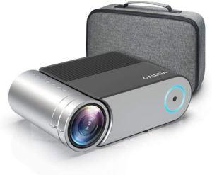 Le projecteur portable comporte souvent un haut-parleur intégré