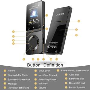 Les lecteurs MP3 ont la capacité de reproduire une majorité des formats de fichiers audio. Faites le test !