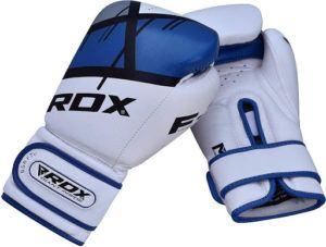 La construction en cuir Maya Hide résilient rend les gants de boxe RDX obstinément durables.