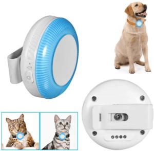 Sur votre téléphone portable, vous pouvez définir une zone de sécurité pour votre chien. La mise en place de ce système vous permet de protéger votre animal et de lui envoyer un rappel lorsque votre animal quitte la zone de sécurité.