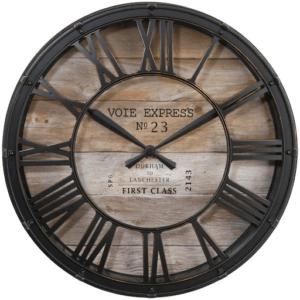 Les avantages des horloges murales numériques sont que vous pouvez facilement voir l'heure exacte et elles affichent également d'autres données.