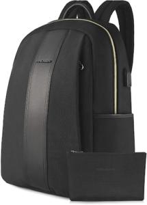 Le sac à dos pour ordinateur portable est fabriqué en tissu de nylon qui est bon pour l'environnement avec une nouvelle fonction imperméable, pour que votre sac à dos reste net et élégant en tout cas.