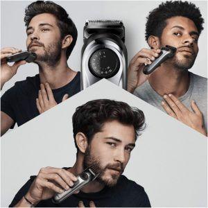 Cette tondeuse à barbe fonctionne avec tous les types de barbe