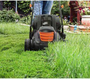 La coupe de la pelouse est plus simple avec une tondeuse à gazon électrique