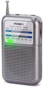 Certains modèles de radio portables sont tellement compacts qu'ils tiennent dans la poche de votre pantalon !