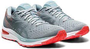 Ces chaussures de course pour femmes emploient des matériaux synthétiques