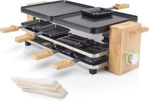 De nombreux appareils à raclette sont maintenant multifonctions et servent à la cuisson d'autres aliments