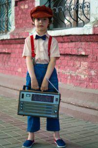 La radio portable traverse les générations !