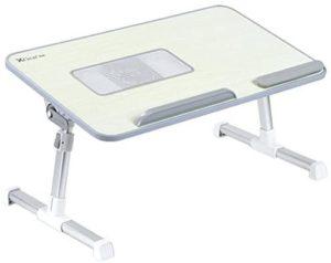 La table console extensible de XGEAR est équipée d'un ventilateur