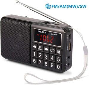 Le poste de radio portable comporte parfois une prise casque pour écouter vos émissions préférées en toute tranquillité