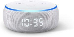 Le réveil intelligent se connecte parfois avec d'autres appareils