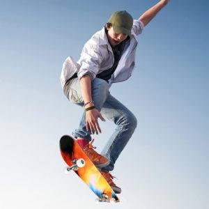 Le skateboard est un sport dangereux
