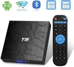 TUREWELL nous présente sa smart tv box livrée avec sa télécommande