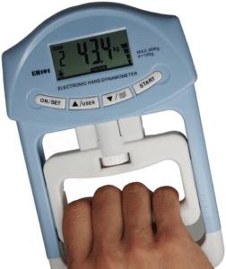 Les dynamomètres mesurent la résistance en plus du poids.