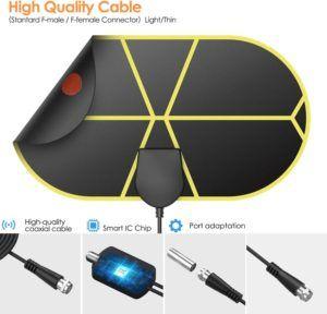 Une antenne TNT intérieure est des plus faciles à monter, et simple à utiliser. Une antenne TNT intérieure high tech, fabriquée en matériaux écologiques.