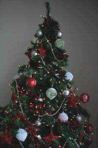 Mettez-vous dans l'esprit de Noël en décorant votre sapin de Noël avec vos proches.