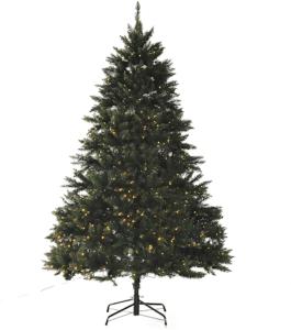 Le sapin de Noël vient avec des lumières LED déjà installées. D'après l'avis des clients et les tests, c'est une des meilleures manières pour apporter un peu de luminosité dans votre appartement tout en restant festif.