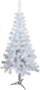 le sapin de Noël blanc qui vous rappellera la neige tombée dehors, est un des meilleurs sapins de Noël modernes d'après les tests comparatifs.