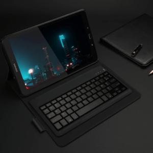 Laissez-vous tenter par ce clavier pour tablette, incluant un meilleur support ainsi qu'un étui à tablette.