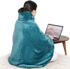Une couverture chauffante est confortable, douce et vous garde au chaud où que vous soyez.
