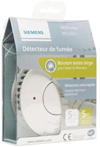 Ce détecteur de fumée est équipé d'un capteur thermique ainsi que d'un détecteur optique.