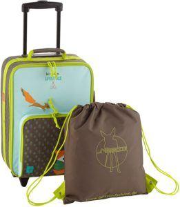 Ce genre de valise a pour avantages de rendre l'enfant autonome et lui donne plus de responsabilités. Faites le test !