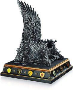 Voici un serre-livre pour les fans de la série Game of Thrones.