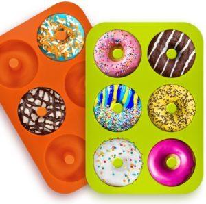 Nos moules à beignets sont en silicone de qualité alimentaire supérieure, approuvés FDA et sans BPA d'après les tests comparatifs.