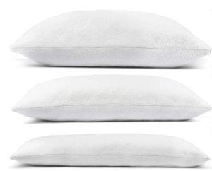 Dormir sans oreiller ou avec un oreiller trop grand ou trop petit peut générer des douleurs de cou et de dos selon l'avis des experts et des tests comparatifs.