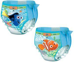 Ces couches jetables permettent aux bébés de profiter plus facilement de la piscine ou de la plage pendant les vacances.
