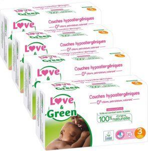 Ces couches ne contiennent aucun ingrédient indésirable soupçonné d'être cancérigène, perturbateur endocrinien, allergène ou irritant.