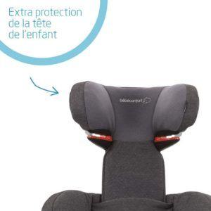 ce siège auto protégera bien la tête de votre enfant.