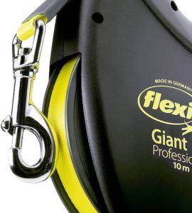 C'est l'une des rares laisses Flexi adaptées aux chiens puissants et de grande taille.