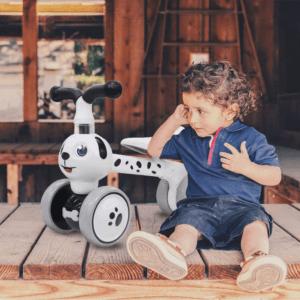 Lorsque les enfants seront suffisamment autonomes, ils pourront se déplacer tout seul, grâce à leur propre effort.