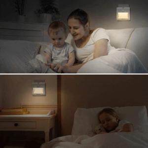 La veilleuse est, selon notre avis, parfaite pour vos enfants qui ont tendance à avoir peur du noir.