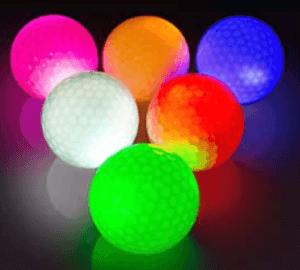 Les balles existent dans plusieurs couleurs.