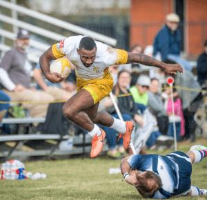 Le rugby peut être un sport très violent.