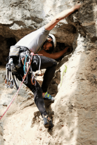 Vos chaussons d'escalade font partie de votre équipement nécessaire pour l'escalade.