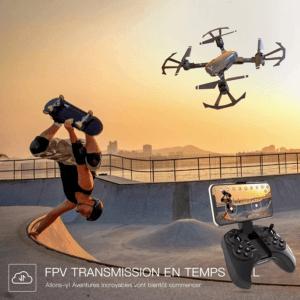 Prenez des photos et des vidéos les plus impressionnantes avec votre drone avec caméra.