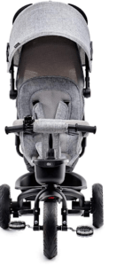 Ce tricycle convient aux enfants de 9 mois jusqu'à 5 ans. Il est équipé de roues increvables. Il dispose d'une fonction pliage, pour le ranger facilement. Faites le test !
