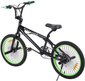 D'après l'avis des experts et des tests comparatifs, les BMX sont des vélos principalement utilisés pour réaliser des figures, semblables à celles réalisés par les motards.