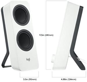 Les haut-parleurs avec fonction d'égaliseur, vous permettent de configurer des réglages audio pointus. Ils s'avèrent des plus utiles autant pour la musique, films et jeux vidéos.