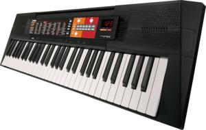 Ce clavier électronique à 30 chansons pré-enregistrées pour aider à apprendre à jouer.
