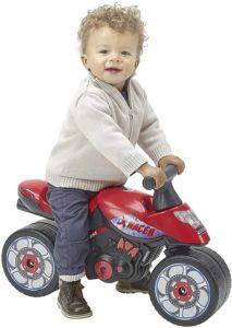 """Selon l'avis des parents: les petits n'ont peur de rien ! Amateurs de vitesse et sensations fortes, ils sont à la recherche d'adrénaline, et adorent """"jouer aux grands"""" avec leur moto enfant."""