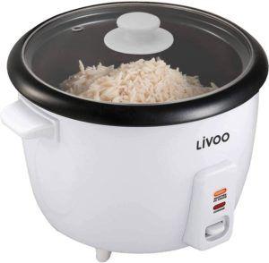 Le cuiseur de riz a une fonction de réchauffement qui permet de garder le riz cuit au chaud après la cuisson. Cela signifie que vous pouvez également manger à une date ultérieure.