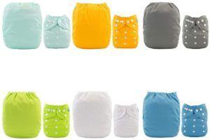 Peu importe votre couleur préférée, vous trouverez une couche lavable dans cette couleur !