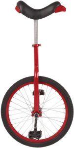 Le monocycle est caractérisé par une seule roue pouvant avoir différents diamètres.