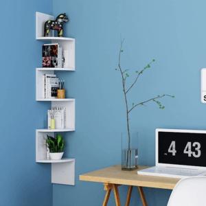 Une étagère murale est un objet de petit mobilier parfaitement sécurisé, à condition de respecter quelques précautions d'usage et mesures de sécurité, dans le choix de l'emplacement et l'installation.